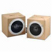 Foldable Paper Cardboard Speaker from Wealthland (Audio) Limited