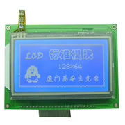 LCD COB Graphics Module, 128 x 64 Dots with Touch Panel