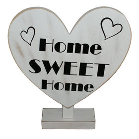 Wood Art Letter Decoration, Made of MDF Material, Various Colors are Available