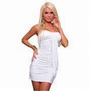 72979ad6c1 Fashionable Ruffled Side Mini Club Party Dress