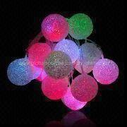 LED Ball String Light from Hong Kong SAR