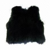 China 2012 Newest Ladies' Fashionable Fur Vest