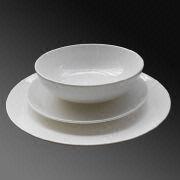 China New Bone China Dinnerware Set with 10.5-inch Dinner Plate/8-inch & New Bone China Dinnerware Set with 10.5-inch Dinner Plate/8-inch ...