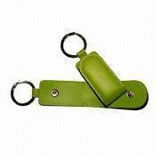Keychain, Made of PU/PVC Leather, Various Colors and Designs are Available from Beijing Leter Stationery Manufacturing Co.Ltd