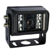 CCTV Camera with Aluminum Shell and Built-in 18pcs Ultra Bright IR LED Enhanced Low Light Picture