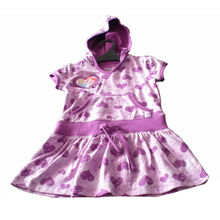 China Cotton/Poly Girl's Dresses with Cap