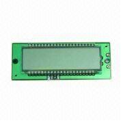 GDM020 LCD Module with 58 x 18mm Viewing Area, Customized Designs are Accepted from Xiamen Ocular Optics Co. Ltd