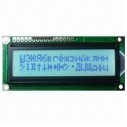 LCD Module, 16 Characters x 2 Lines, STN (Gray), White Backlight