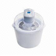 China Ice Cream Maker with Double Insulation and LCD Display