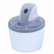 China DIY Mini Ice Cream Maker with 1.2L Capacity and 12W Power