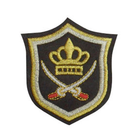 Embroidered Patch from China (mainland)