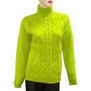Ladies sweater from China (mainland)