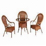 Rattan table and chair from China (mainland)