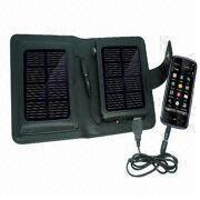 Portable Solar Charger, Apply to Charging Outdoor, 5 to 6V/500mA from Shenzhen BAK Technology Co. Ltd