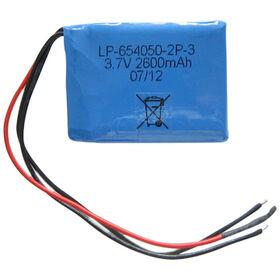 Lithium Polymer Battery Pack with 3.7V Voltage from Shenzhen BAK Technology Co. Ltd