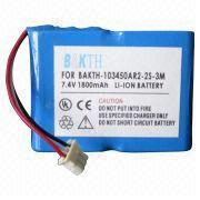 Lithium-ion Battery Pack, 7.4V Voltage from Shenzhen BAK Technology Co. Ltd