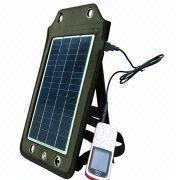 Portable Solar Charger, Apply to Charging Outdoor, 6V/830mA Solar Panel Output from Shenzhen BAK Technology Co. Ltd