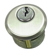 Zamac Cylinder, Brass Material is Available from Door & Window Hardware Co