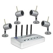 Wireless USB Network DVR Kit with Multichannel Display and Motion Detection