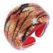 China New Design Finger Ring Lampwork Murano Glass Rings
