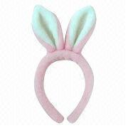Plush Rabbit Ears Head Band from China (mainland)