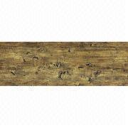 Wooden Emboss PVC Flooring with 2.0 to 5.0mm Thickness, Provides Realistic Effect