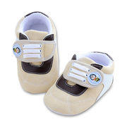 Baby's Shoes, Various Sizes/Colors are Available, Made of Leather/Velour/TPR