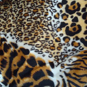 Poly velboa fabric for toy, shoes fabric from Changshu Suntex Trading Co. Ltd