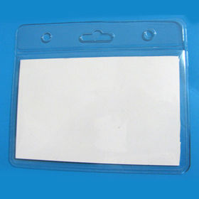 ID Card Holder, Customized Shapes and Sizes Welcomed, Made of PVC