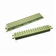 DIN41612 connector, F type, female dip, 180 3x16 from Morethanall Co. Ltd