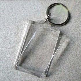 Plastic Photo Frame Keychain from China (mainland)