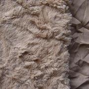 Crushed PV Plush Long Hair, Fake Cur from Changshu Suntex Trading Co. Ltd