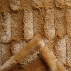 Long Hair Brushed PV Plush, Fake Fur from Changshu Suntex Trading Co. Ltd