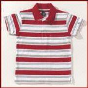 Polo shirts, 180gsm, 100% cotton, Yarn Dyed, Carded Yarn, 34/1 Yarn Count, Single Jersey, striped