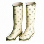 Women's Rubber Rain Boots from China (mainland)