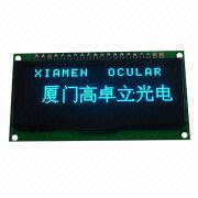 OLED Graphics Display, 128 x 32 Dots COG + PCB, Sized 66.5 x 35 x 8.5mm