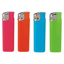 Slim Refillable Electronic Lighters, Ideal for Promotional and Advertising Purposes