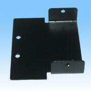 Metal Stamped Part, Made of Al6061 Material with Black Electrophoresis from HLC Metal Parts Ltd