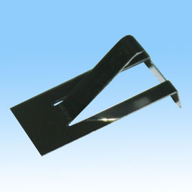 China Stamped Metal Part, Made of SUS301, Process by Stamping, Bending with RoHS Mark
