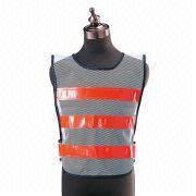 Neon-stripe Vest