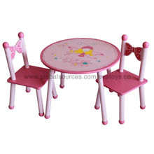 Table and 2 chairs Manufacturer