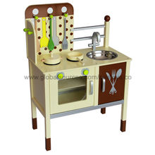 Wooden Pretend Kitchen from China (mainland)