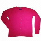 100% Acrylic Cashmere Like Ladies' Cardigan