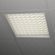 LED Panel Light with Grid, High-efficiency, 600 x 600 x 50mm Size