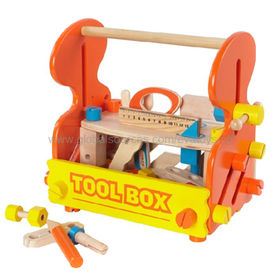 2013 Popular wooden Workbench Tool Toy with factory price, wooden tool box toy, Tool Bench , too box