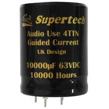 Guided Current Audio electrolytic Capacitor Supertech Electronic Co. Ltd