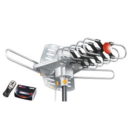 HDTV Outdoor TV Antenna with Infrared Remote Rotate Control