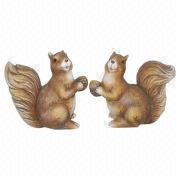 Ceramic Squirrels from China (mainland)