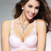 New Arrival Yafena Women's Fashionable Sexy Lace Bra, Customized Colors/Patterns are Accepted