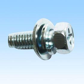 Bolt with Washer and Spring Washer (SPCC), Made of 1008, Plating Zinc from HLC Metal Parts Ltd